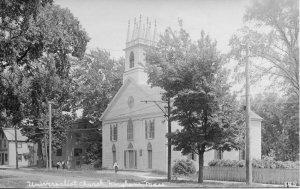 First Universalist Church and Society.  From the collection of the Hingham Historical Society