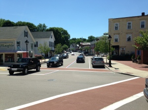 Hingham Square looking south on Main Street, today