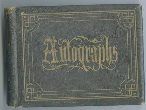 Willie Leavitt's Autograph Album