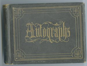 Willie Leavitt's Autograph Album