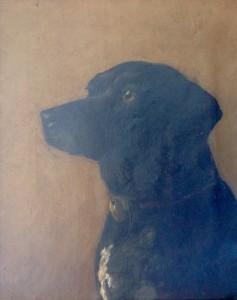 His Dog Bruno, c. 1890
