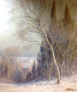 Detail of a landscape from Turkey Hill, c. 1880