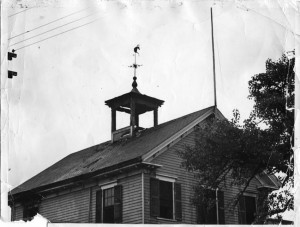 Photograph of the Free Christian Mission.  From the collection of the Hingham Historical Society