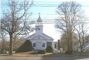 Former First Church of Christ Scientist, Hingham.  From the collection of the Hingham Historical Society