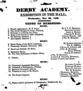 Derby Exhibition 1