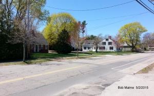 Burr Homestead houses along 57, 61 and 67 Leavitt Street, 5/2/15