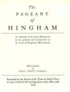 Pageant Title Page