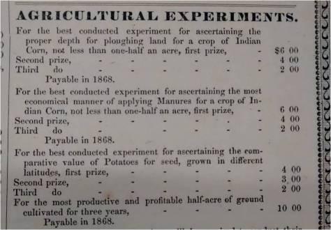 Africultural Fair Poster 1863 #2