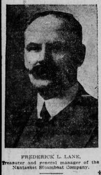 Frederick L. Lane | General Manager of the Nantasket Steamboat Co | Boston Post Sun 26 Jun 1921