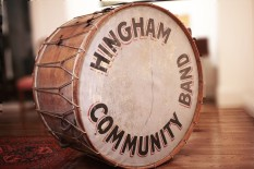 Hingham Community Band | William Goodwin Bass Drum