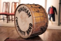 Hingham Community Band | Bass Drum Side view