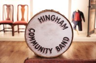 William Goodwin Bass Drum | Hingham Community Band